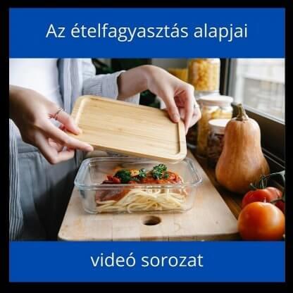 étel fagyasztás